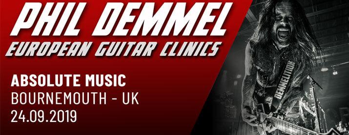 Phil Demmel Guitar Clinic 24th Sept 2019