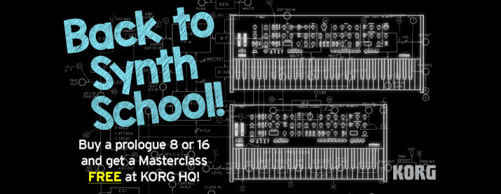 Back to Synth School with the KORG Prologue