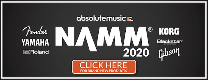 New from NAMM 2020 - click here for product updates